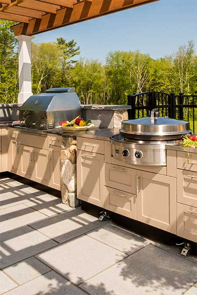 Outdoor Kitchen Designs by Chatham Refinishing