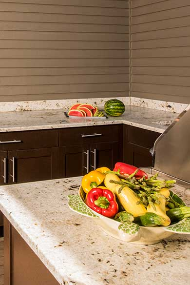 Custom Designed Outdoor Kitchens by Chatham Refinishing