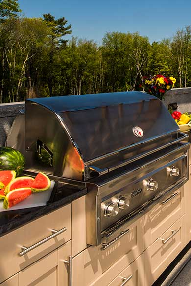 Custom Outdoor Kitchens by Chatham Refinishing